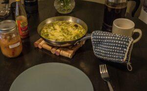 frittata or omelette